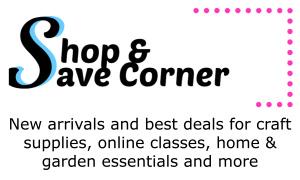 Shop & Save Corner
