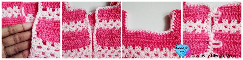 Crochet Toddler Girl Dress - free pattern