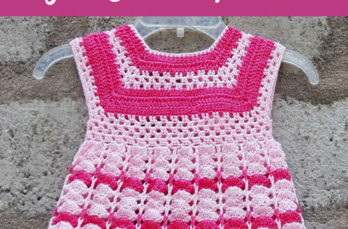 Crochet Toddler Size Girl Dres - free crochet pattern