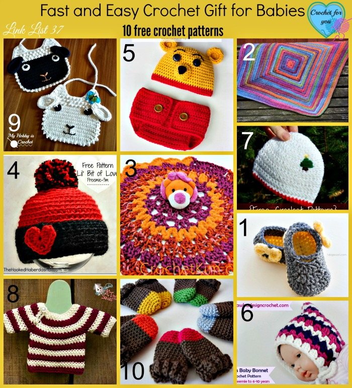 Fast and Easy Crochet Gift for Babies