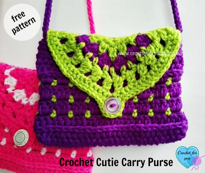 Crochet Cutie Carry Purse - free pattern
