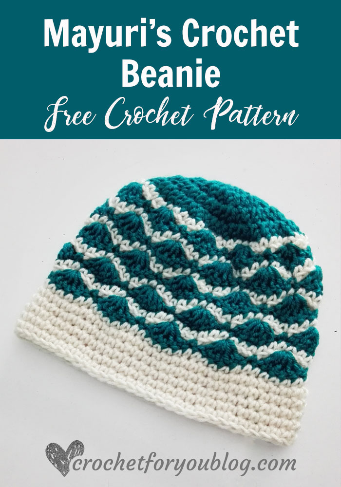 Mayuri\'s Crochet Beanie Free Pattern - Crochet For You
