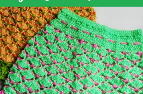 Shelley's Crochet Shells Skirt - free crochet pattern