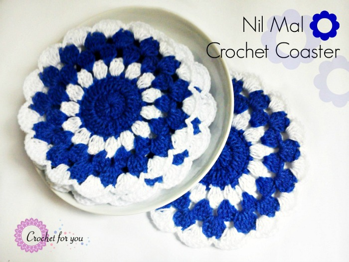 Nil Mal Crochet Coaster Free Pattern Crochet For You