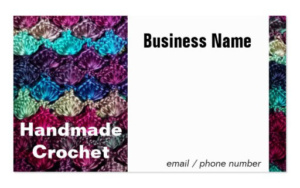 Crochet Handmade Business Card