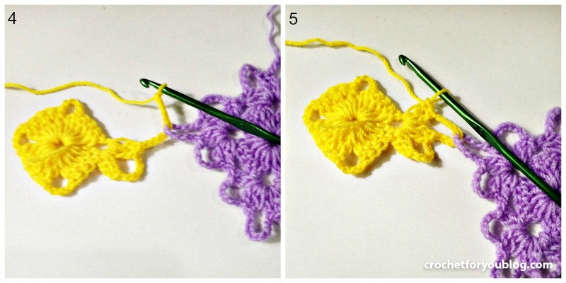 Join As You Go Crochet Method