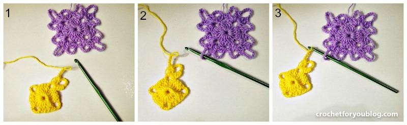 Join As You Go Crochet Method
