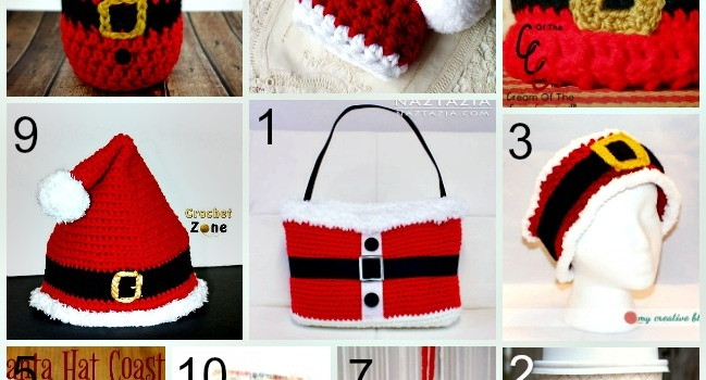 Link List 63: 10 Free Santa Crochet Patterns