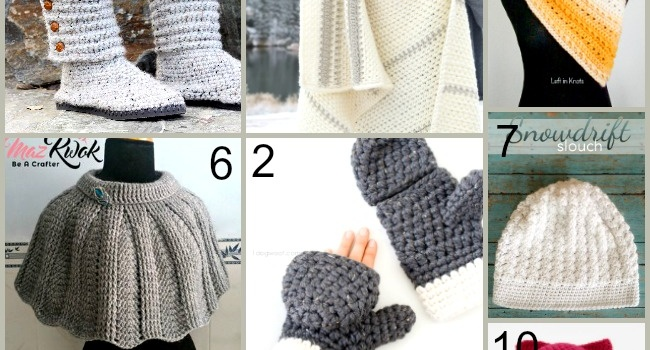 Link list 64: 10 Free Crochet Patterns for Winter