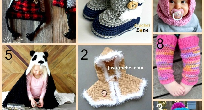 Link list 65: 10 Free Winter Crochet Patterns for Babies