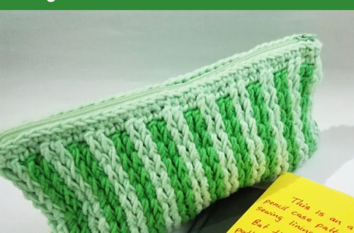 Handy Dandy Pencil Case - free crochet pattern