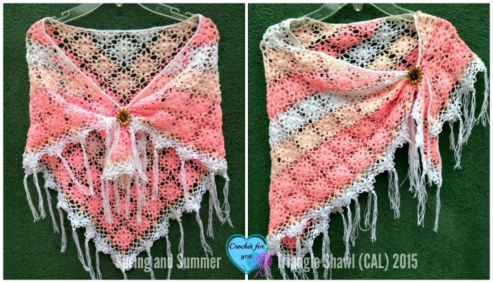 Part 5: Spring and Summer Triangle Shawl (CAL) 2015
