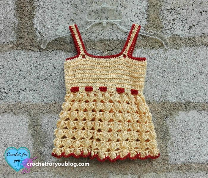 Honey Bliss Baby Dress Free Crochet Pattern 2 Crochet For You