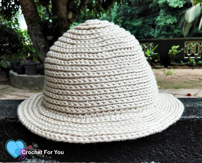 Crochet straw sun hat free pattern crochet for you crochet straw sun hat free pattern dt1010fo