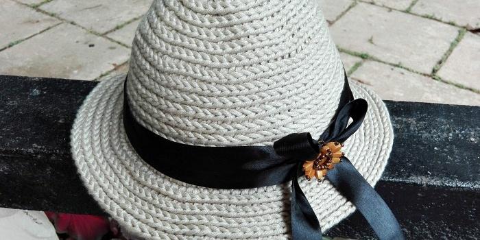 Crochet Straw Sun Hat Free Pattern