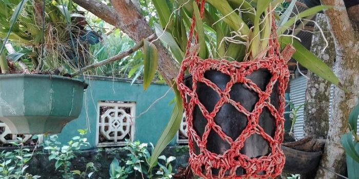 Crochet Flower Pot Hanging Free Crochet Pattern – Review