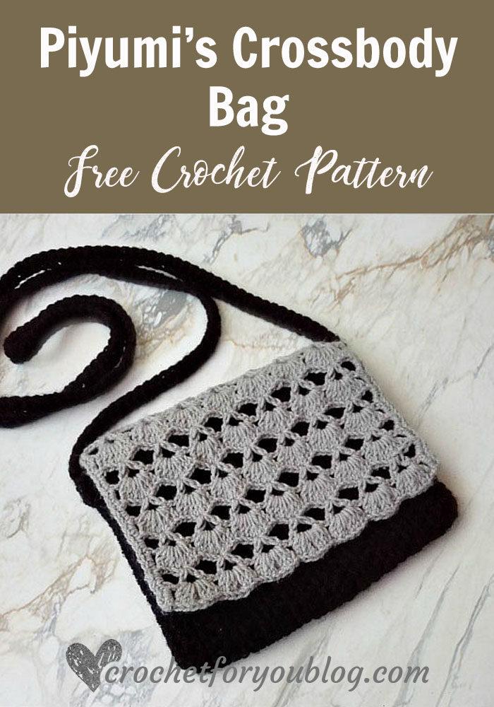 Piyumis Crossbody Bag Free Crochet Pattern Crochet For You