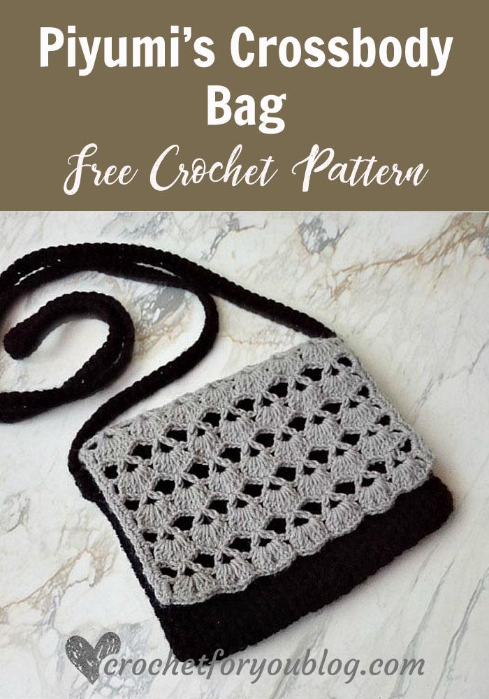 Piyumi\'s Crossbody Bag Free Crochet Pattern - Crochet For You