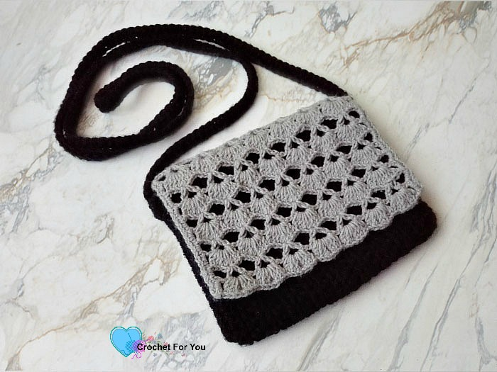 Piyumis Crossbody Bag Free Crochet Pattern - Crochet For You