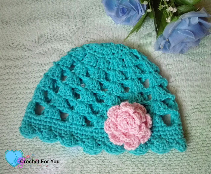 Easy Peasy Baby Beanie Free Crochet Pattern - Crochet For You