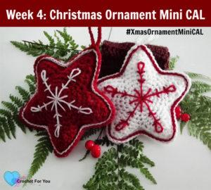 Christmas Ornament Mini CAL - Crochet Christmas Star