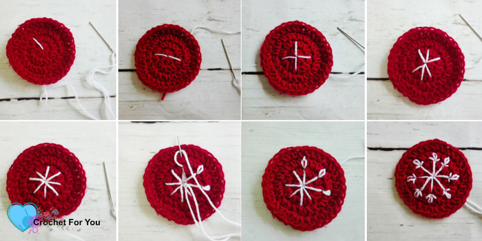 Christmas Ornament Mini CAL - Crochet Baubles