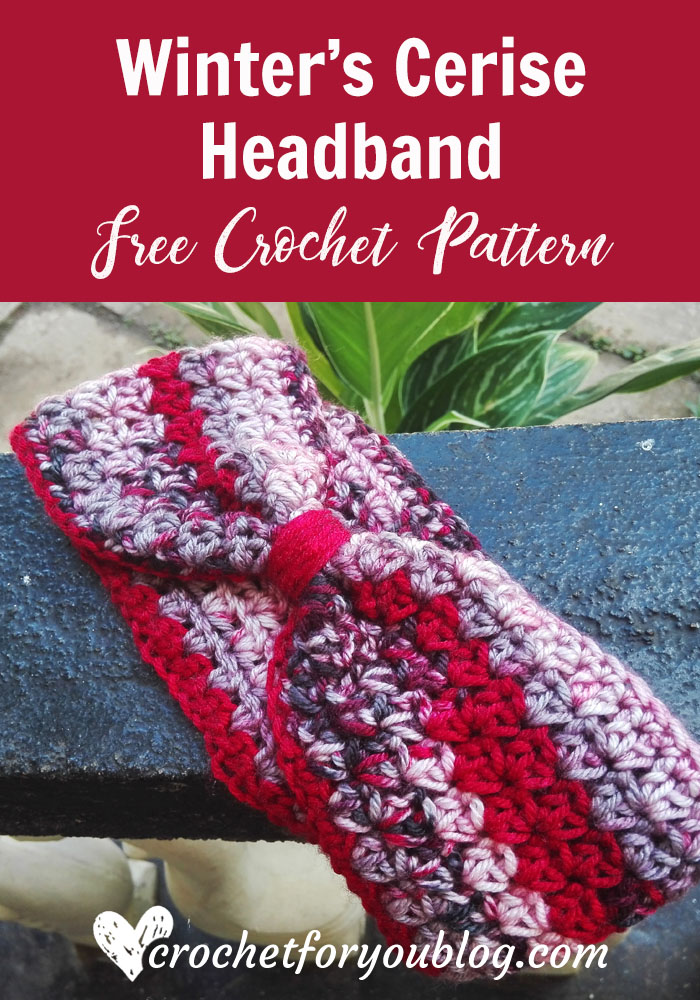 Peppermint Houndstooth Scarf Free Crochet Pattern Crochet For You