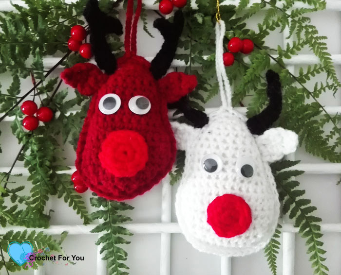 Christmas Ornament Mini CAL – Crochet Rudolf the Reindeer