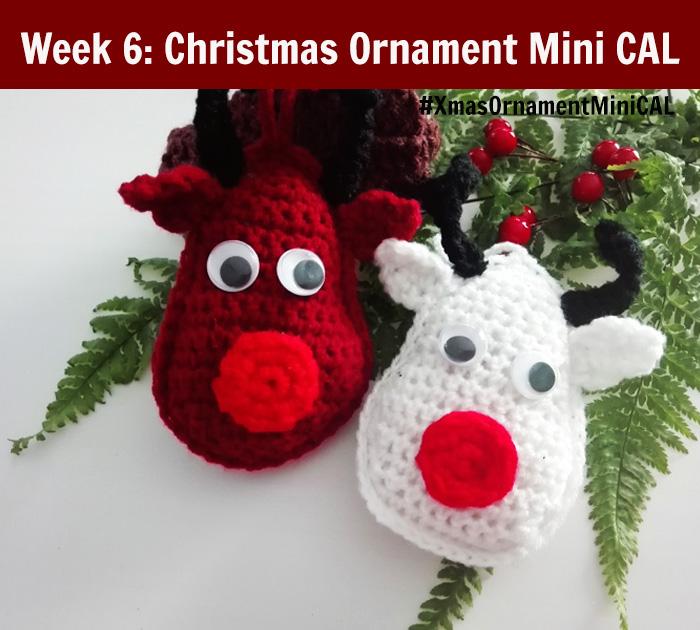 Christmas Ornament Mini CAL - Crochet Rudolf the Reindeer