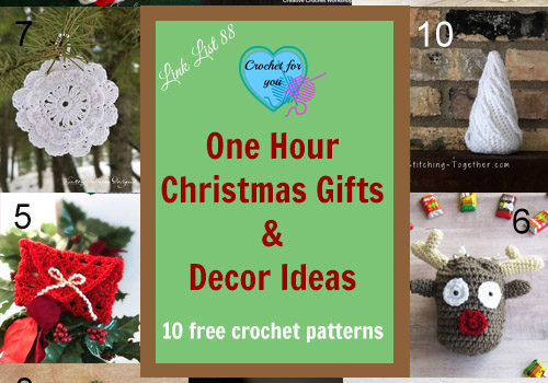 Link list 88: One Hour Christmas Gifts & Decor Ideas
