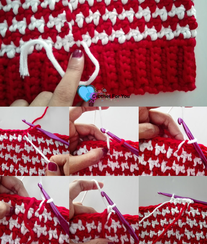 Peppermint houndstooth crochet hat free pattern crochet for you peppermint houndstooth crochet hat pattern dt1010fo