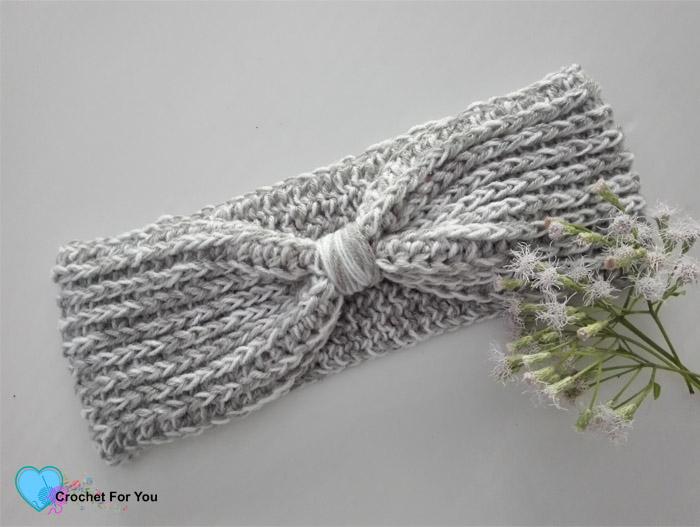 Easy Crochet Stash Buster Ear Warmer Free Pattern Crochet For You