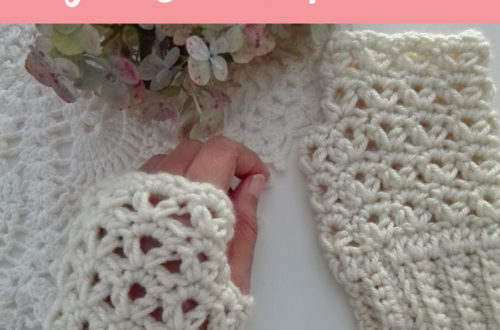 Victorias Winter Crochet Fingerless Gloves Free Pattern Crochet