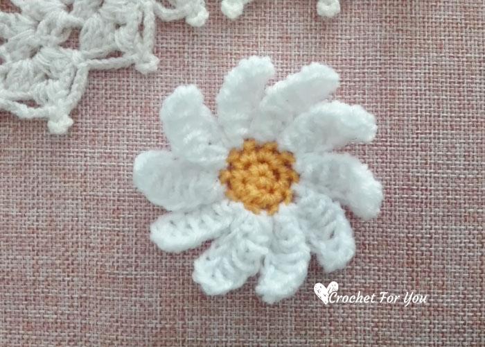 Amigurumi Flowers Free Patterns : Crochet daisy flower free pattern crochet for you