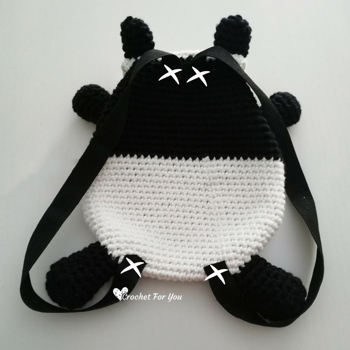 Crochet Panda Backpack Free Pattern 3 Crochet For You