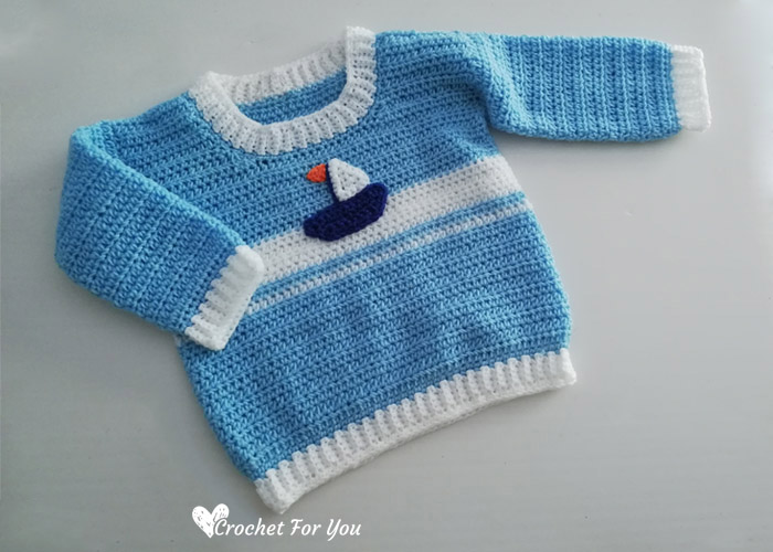 Crochet Baby Sweater Free Pattern 6 Crochet For You