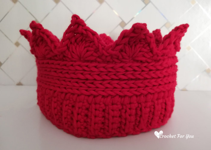 Crochet Crown Ear Warmer Free Pattern Crochet For You