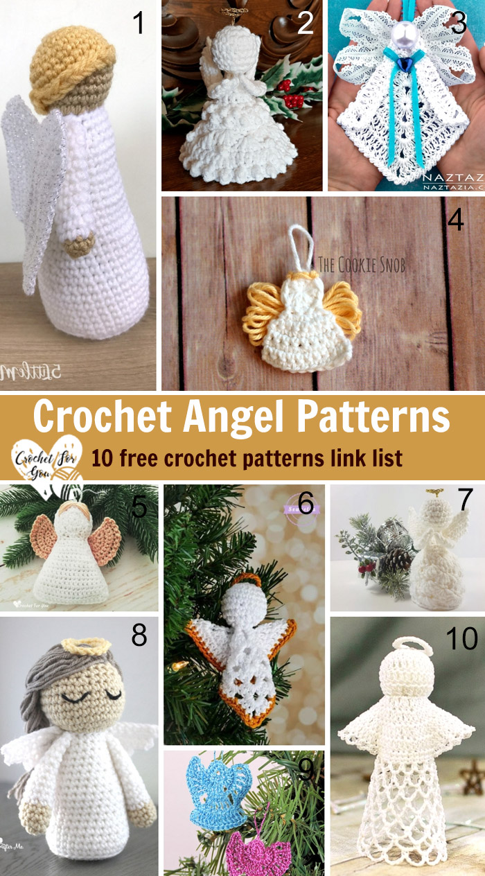 Crochet Angel Patterns - 10 free crochet patterns link list