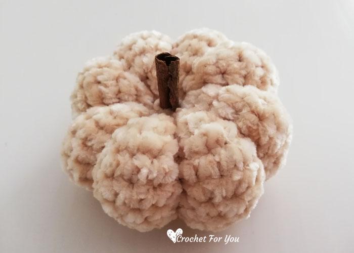 Crochet Lil Velvet Pumpkin Free Pattern