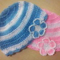Crochet Baby Beanie - free pattern