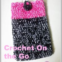 Crochet On the Go phone Case - free pattern