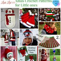 Link List 14Xmas Crochet Patterns for little girls and boys