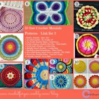 Link List 2 - 10 free crochet mandala patterns