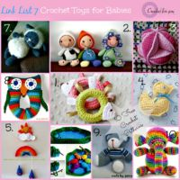 Link List 7 - Crochet toys for babies