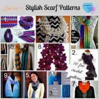 Link list 11- Crochet Stylish Scarves