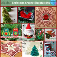 Link list 15 Christmas Crochet Decorations