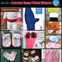 Link list 16 Crochet Baby/Child Mittens