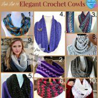 Link list 18 Elegant Crochet Cowls