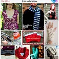 Fast and Easy Crochet Gift for Adults - 10 free crochet patterns