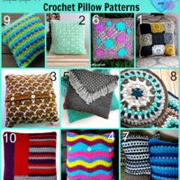 10 free Crochet Pillow Patterns